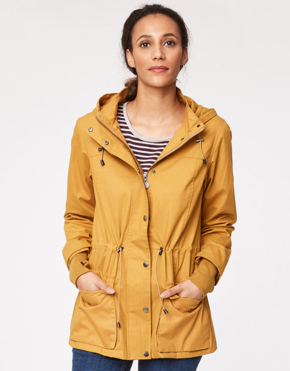 WWJ3289-isa-mustard-organic-cotton-rain-jacket-CLOSE