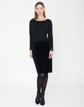 MF_dress_chloe_black_voor