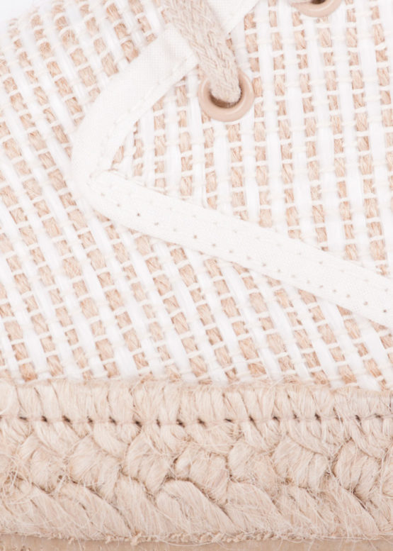 Arenalet Espadrille - Ecru -The Rice Co