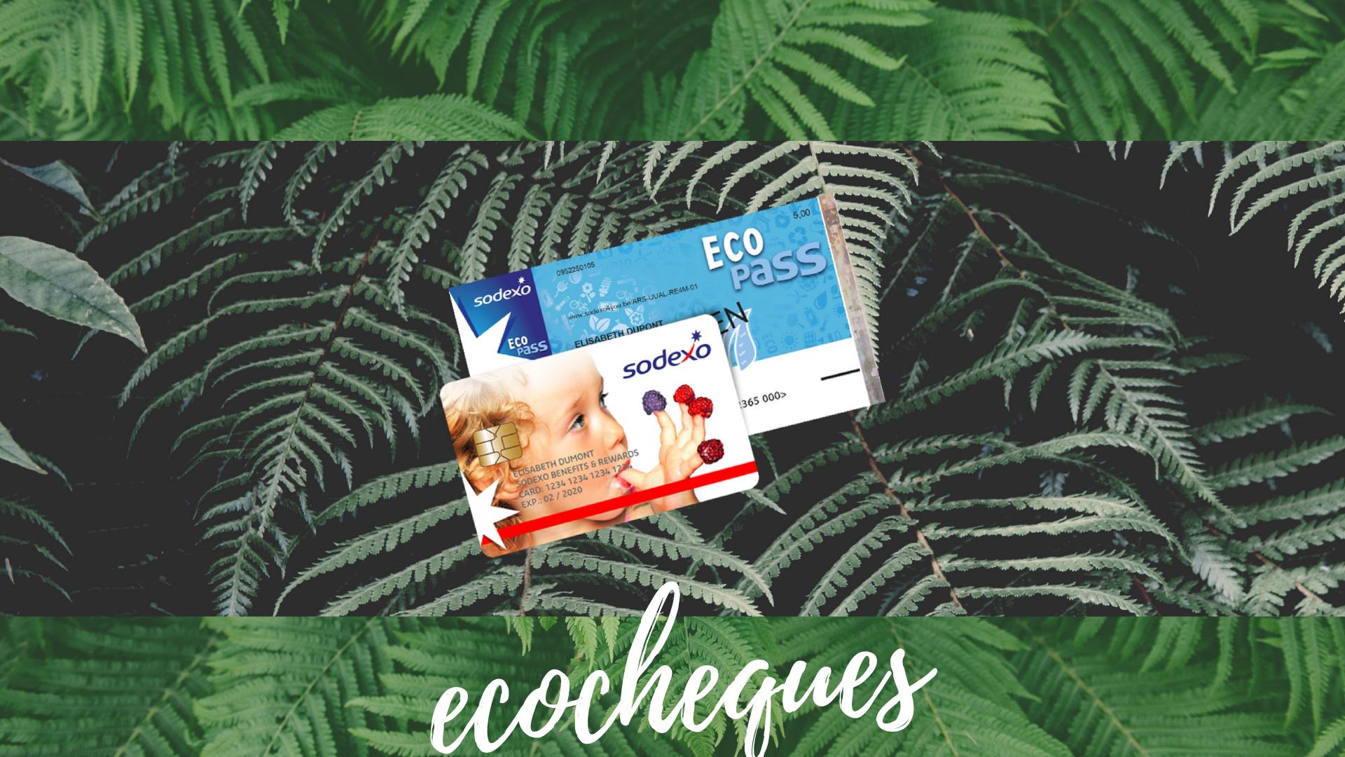 Sinds maart aanvaarden wij ECO CHEQUES van Sodexo, joepie!