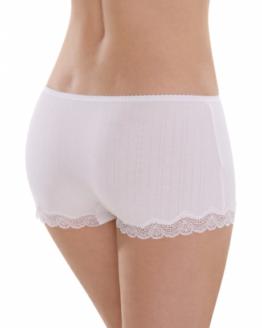 Onderbroek comazo wit kant