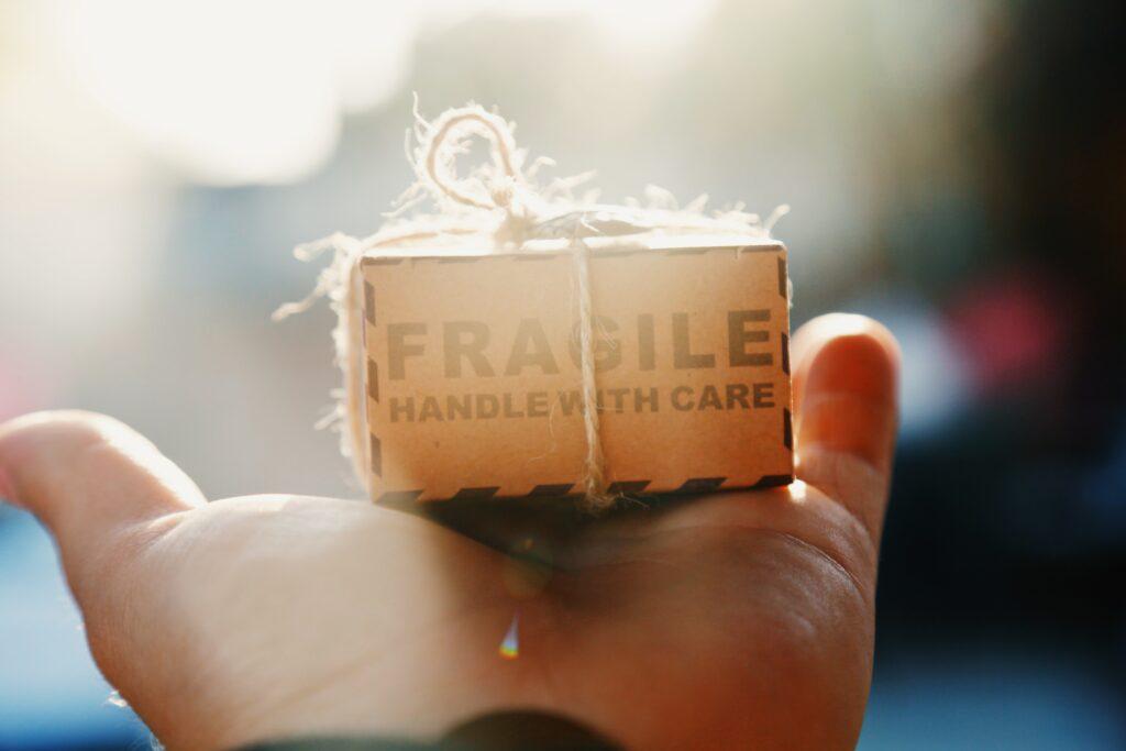 Gratis inpakken als cadeau met gerecycleerd paper