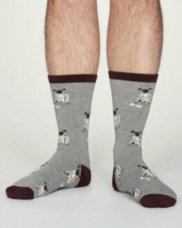 sokken-hondenprint-bamboe-grijs-thought