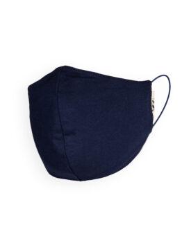 Mondmasker-soki-Biokatoen-wit-donkerblauw-zwart