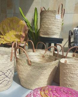 Shopper - Hadithi Crafts - Handgeweven met sisal Gras