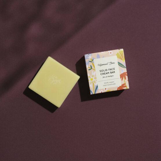 Solid Gezichtscrème - Helemaal Shea - Voor alle huidtypes