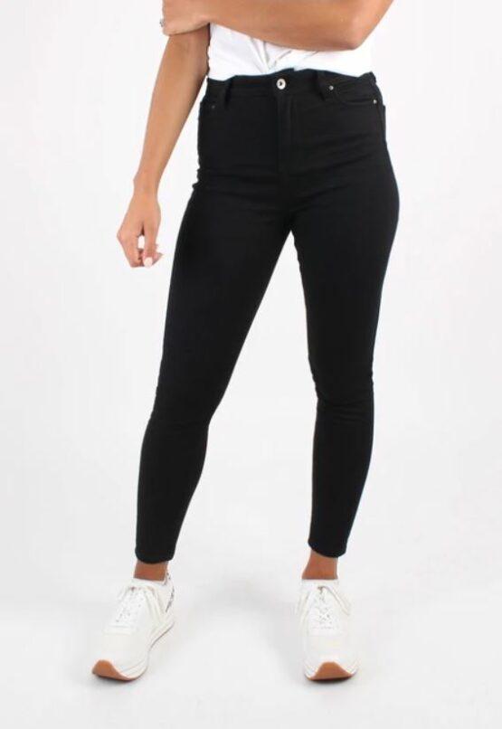 Super skinny jeans - Monkee Genes - Biokatoen - Zwart - Ruby