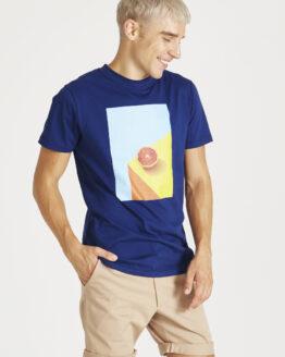 T-shirt - Givn - Biokatoen - Pompelmoes - Colby