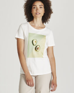 T-shirt - Givn - Biokatoen - Avocado - Lena