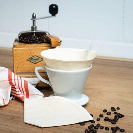Set Koffiefilters - Living Crafts - Biokatoen - Hamburg