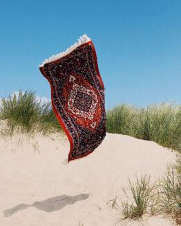 Strand handdoek - Slowtide - Katoen - Haven