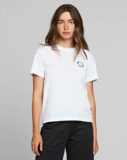 T-shirt Dedicated Biokatoen VEggies are not banans wit mysen