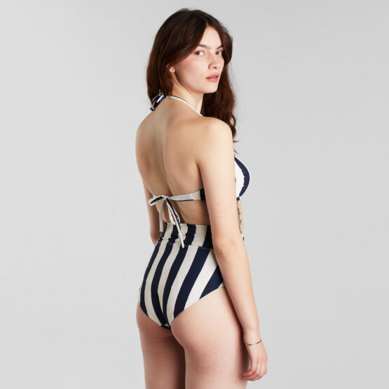 Bikini broek - Dedicated - Gerecycleerd Polyester - Streepjes - Slite