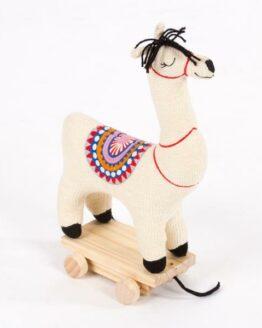 Lama House of india katoen speelgoed trekdier