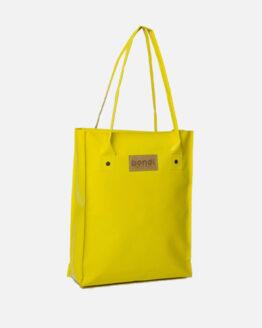 shopper bendl upcycled vrachtwagenzeil geel