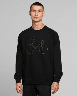 Sweater - Dedicated - Biokatoen - Fiets Regenboog - malmoe