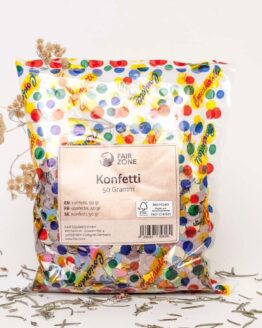 confetti fair squared recycled 50gr