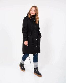 Winterjas - Danefae - Polyester - Zwart - Lizzy