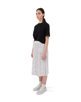 rok - Makia - gerecycleerd polyester - wit - Beam.