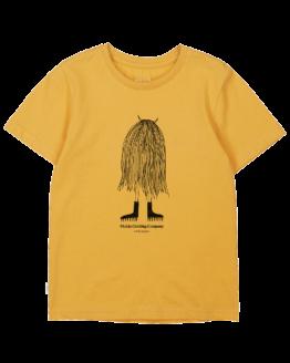 Baby T-shirt - Makia - Biokatoen - Oker - Moshpit