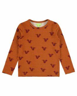 Baby T-Shirt - Lily Balou - Biokatoen - Eekhoorn - Florian